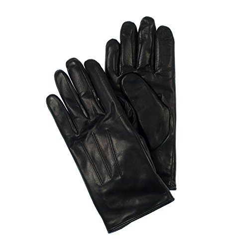 Isotoner Womens Genuine Leather SmartTouch Technology Gloves XL Black by ISOTONER