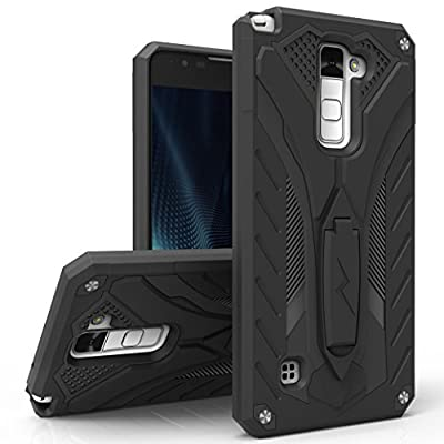 LG Stylo 2 Case, Zizo [Static Series] Shockproof [Military Grade Drop Tested] with Built-in Kickstand [LG Stylo 2 Heavy Duty Case] Impact Resistant