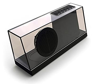 Wireless Bluetooth Stereo Speaker, Built in Speakerphone 8 hours 1400mAh Rechargeable Battery Dual Accoustic LED Indicator Protective Cap Bag Venstar Mini Subwoofer Sound Pod (NFC) Portable, Hands-Free Speaker Music for iPhone, iPad, iPod, MacBook, Samsun