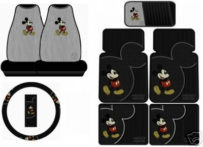 Mickey Mouse Car Seat Covers Toddler Cute Sets