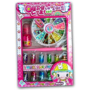 Buy nail artdecoration kit for kids online at low prices in india nail artdecoration kit for kids prinsesfo Image collections