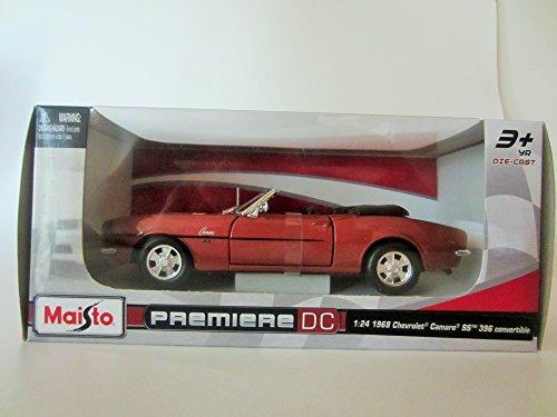 Maisto Premiere DC 1:24 1968 Chevrolet Camaro SS 396 Convertible