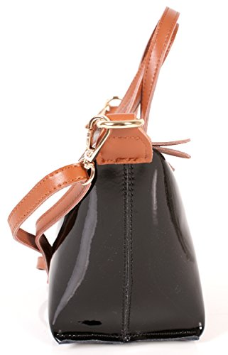 Sienna Rose, Borsa a mano donna nero small