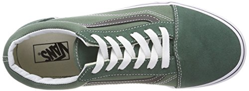 Vans Unisex Kinder Old Skool Sneaker Schwarz (Duck Green/black Q7m)