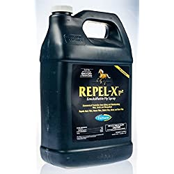 Farnam Repel-X PE ONE GALLON Concentrate Makes Fly Spray that Kills on Contact Deer Flies Makes 8 Gallons
