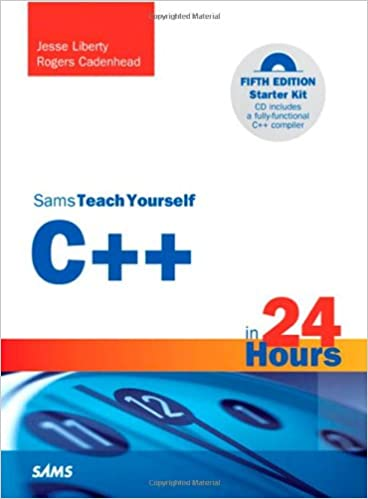 Amazon Com Sams Teach Yourself C In 24 Hours 5th Edition