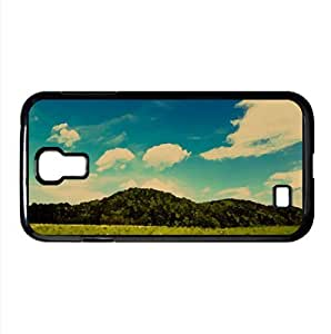 Mountain Meadow Watercolor style Cover Samsung Galaxy S4 I9500 Case (Summer Watercolor style Cover Samsung Galaxy S4 I9500 Case)