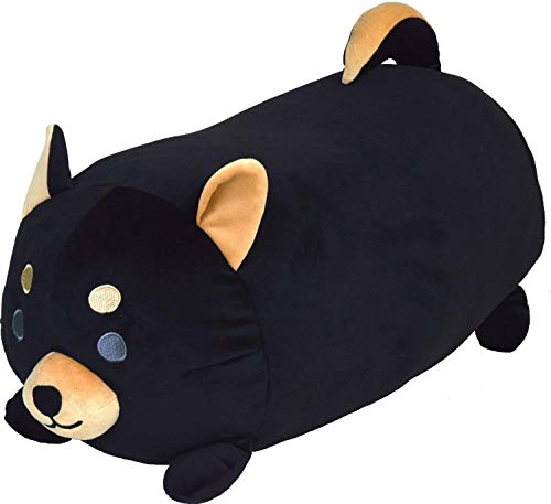 Gentie Animals Body Pillow Dog ''Black Shiba Dog'' G-6521BK by Gentie