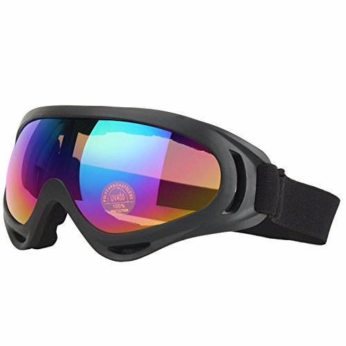 Ski Goggles Skiing Sonwboard Goggles For Men Women & Youth With 100% UV Protection, Colorful