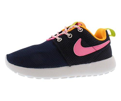 Nike Unisex-Kinder 659374-401 Krabbelschuhe BLU/ROSA
