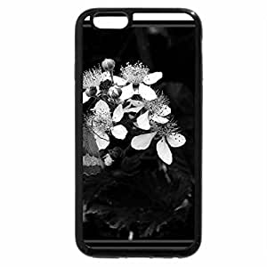 iPhone 6S Plus Case, iPhone 6 Plus Case (Black & White) - Butterfly
