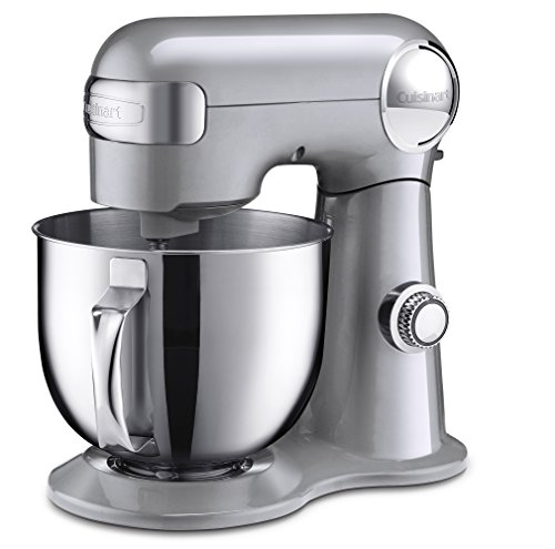 and Mixer, Brushed Chrome (Cuisinart Stand Mixer)