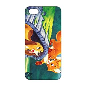 Evil-Store Lovely cat and dog 3D Phone Case for iPhone 4/4s