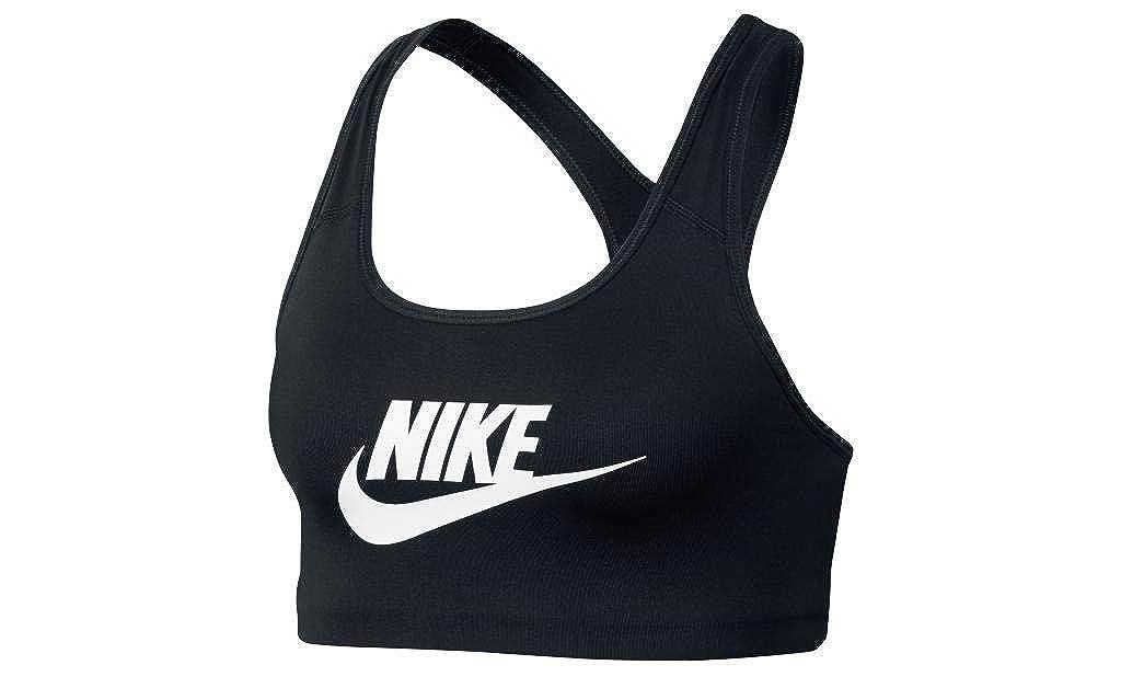 TALLA M. Nike Swoosh Futura Bra Sports, Mujer