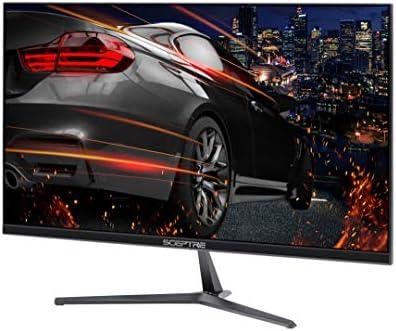 Sceptre E255B-1658A 25″ 165Hz 144Hz 1ms AMD FreeSync gaming LED Monitor 2x HDMI 2.0 1x DisplayPort RTS FPS Build-in Speakers, Machine Black, Metallic Black 41IaEOg4RfL