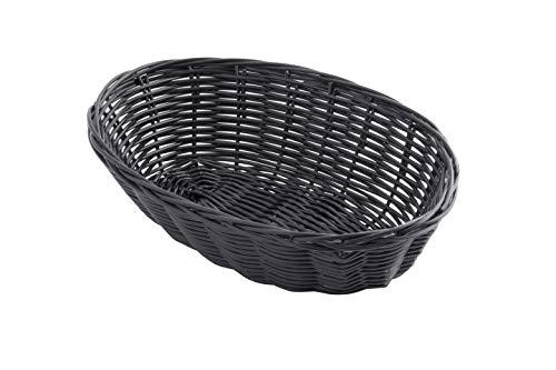 Tablecraft 1073BK Platter Basket, 8-1/2 x 6 x 1-1/2
