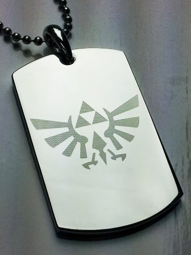 Legend Triforce Stainless Pendant Necklace