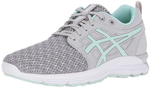 Women's Bay Torrance Gray Shoe Aluminum 9 Mid Gel US Running ASICS M Bxawq8d4B
