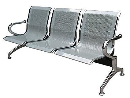 Sedia panca d attesa in metallo per ufficio posti amazon