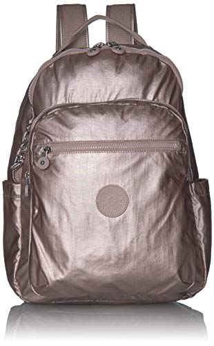 Kipling womens Seoul Diaper Bag Backpack, Metallic Rose, One Size