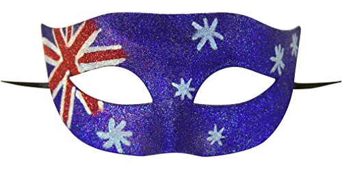 Costumes Collection Australia (KAYSO INC National Flag Masquerade Mask Collection (Australia))