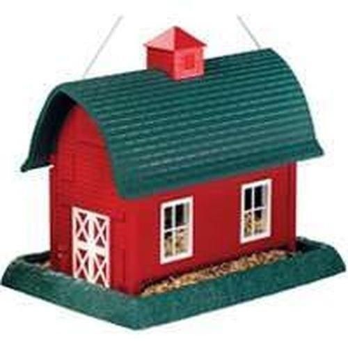 [해외]새 9061 큰 빨간색 녹색 헛간 매달려 조류 피더 판매 새 판매 6990865/New 9061 Large Red Green Barn Hanging Bird Feeder Sale New Sale 6990865