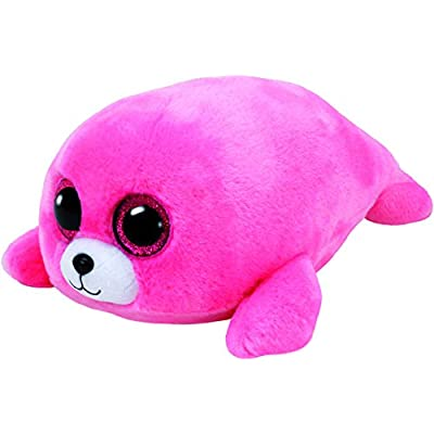 Ty Beanie Boos Pierre - Seal Pink med: Toys & Games