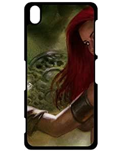 Bettie J. Nightcore's Shop Lovers Gifts Sony Xperia Z3 Case Cover Red Sonja Case - Eco-friendly Packaging 2007449ZD405182833Z3