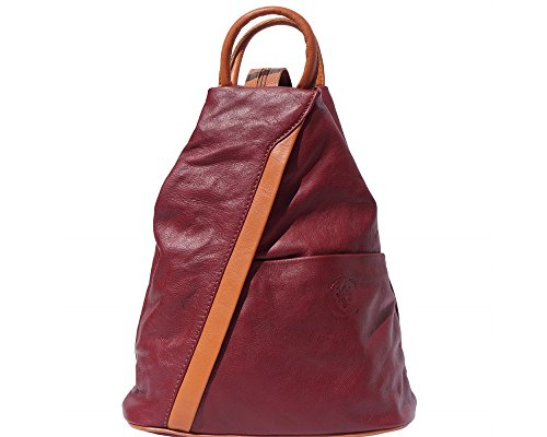 LaGaksta Submedium Fashion Leather Backpack Purse Shoulder Bag ()