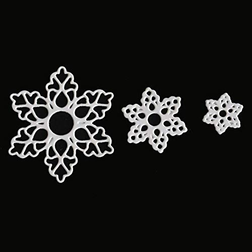 Hot Sale! Hongxin Metal Cutting Dies Layered Sharpe Flower Dies Cut Decorate Scrapbooking Embossing Stencil DIY Album Card Craft Dies Creative Gift For Her by Hongxin (Image #3)
