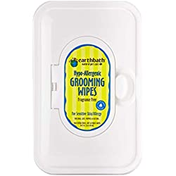 Earthbath 100 Count All Natural Grooming Wipes (2 Pack)