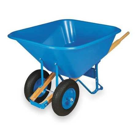 Wheelbarrow, Poly, 10 Cu. Ft, - 10 Wheelbarrow Cu Ft