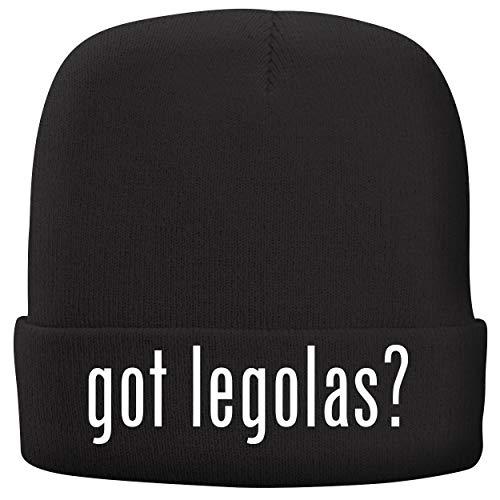 BH Cool Designs got Legolas? - Adult Comfortable Fleece Lined Beanie, Black