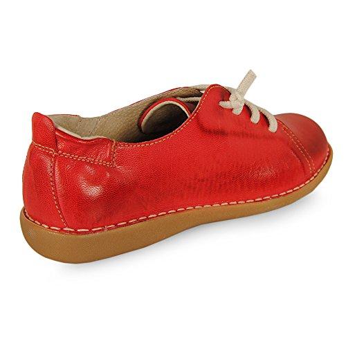 Dimo Casual Cordon Elastico Rojo