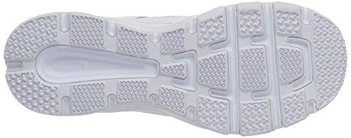 Nike Donna T-lite Xi Top Bassa Allacciata Sneaker Da Running Bianco / Mtllc Slvr / Pr Pltnm / Blk