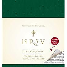 NRSV XL, Catholic Edition, Hardcover, Green