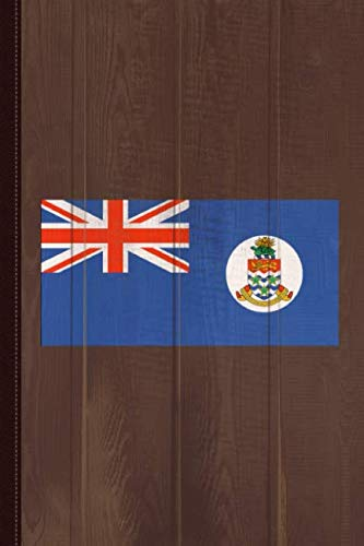 (Cayman Islands Flag Journal Notebook: Blank Lined Ruled For Writing 6x9 110 Pages)