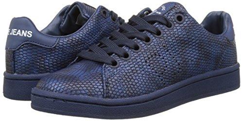 Club Para Zapatillas New Monocrome Jeans ocean Azul Mujer Pepe EaFRqpWnW