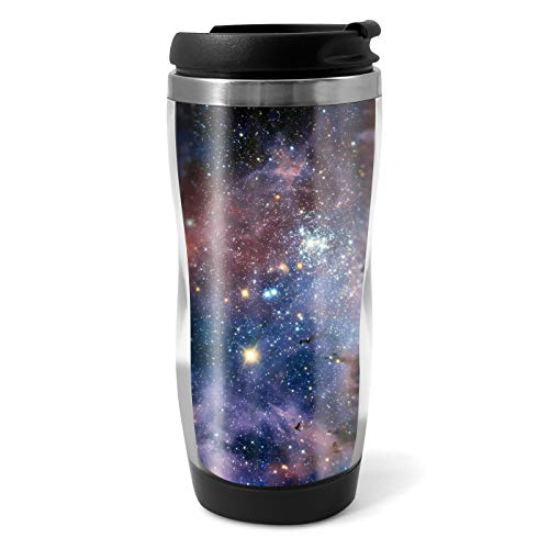 Awesome Nebula Travel Mug Flask - 330ml Coffee Tea Kids Car Gift #8945