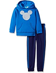Disney Toddler Boys\' Mickey Mouse 2-Piece Hoodie and Pant Se...
