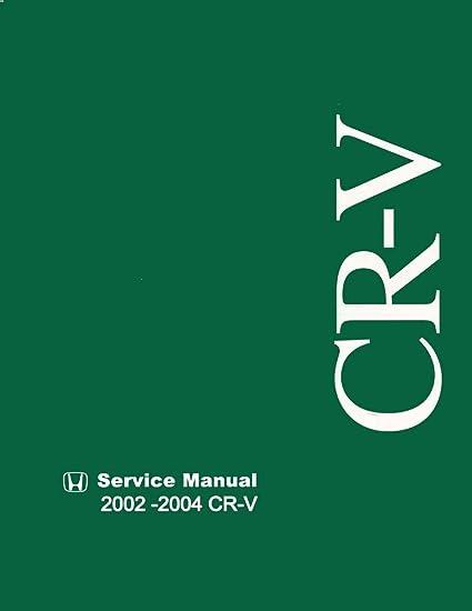 image unavailable  image not available for  color: bishko automotive  literature 2002 2003 2004 honda cr-v shop service repair manual book engine