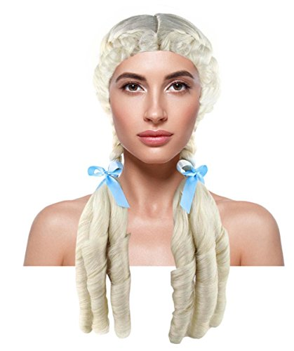 Farm Girl Costumes For Adults (Kansas Farm Girl Cosplay Party Costume Wig Adult HW-1375)