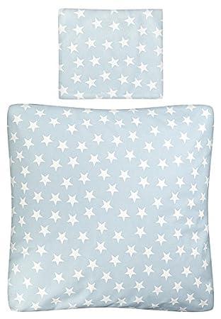 Aminata Kids Baby Bettwäsche Set Bett Decke 80 X 80 Cm Kissen