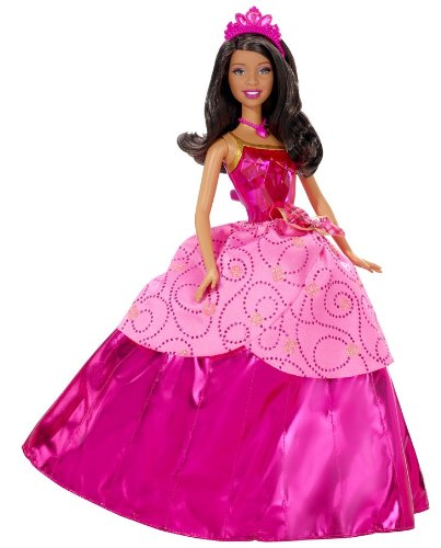 Amazon.com: Barbie Princess Charm School Princess Blair African-American Doll: Toys & Games