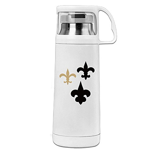 New Orleans Saint Stainless Steel Insulated With Lid - Bazinga Travel Mug