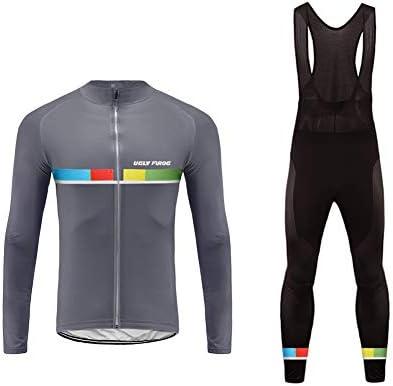 Uglyfrog Bike Wear Maillot de Ciclismo/Hombre Mangas Largas Bodies Ropa para Bicicleta 3D Cojín Conjunto Bici de Montaña Chaqueta+Pantalones Culote de Ciclista Largo Transpirable para Otoño, XS-6XL: Amazon.es: Deportes y aire libre