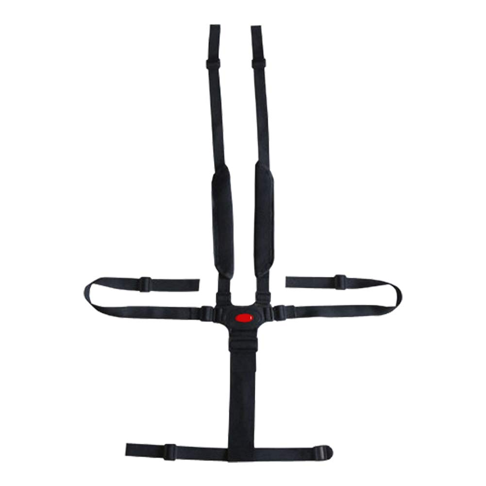 Hooshing High Chair Straps Replacement 5 Point Harness Seat Belt for Stroller Pushchair Pram Buggy Safe Protection