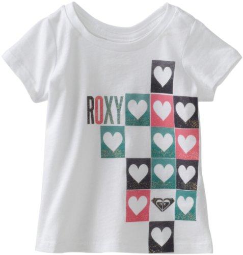 Roxy Kids Baby Girls' Heart Checker Harmony Tee