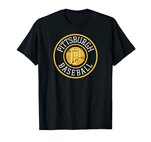 Pittsburgh Baseball | Burgh Pride Pirate Badge Gift T-Shirt ()