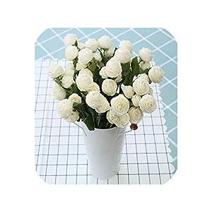 meiguiyuan 42cm Rose Peony Artificial Flowers Silk Fake Flower Home Garden Party Spring Wedding Decoration Mariage Valentine's Day Flores 32